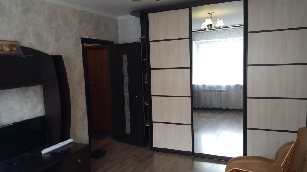 1-комнатная квартира, улица Мильчакова 45